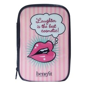 NWOT Benefit Cosmetics Makeup Bag
